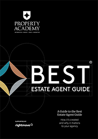 Best estate agent guide book cover